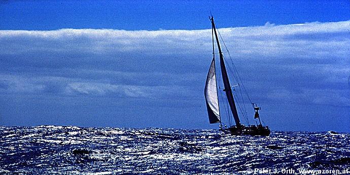 Sturmsegeln  Azoren