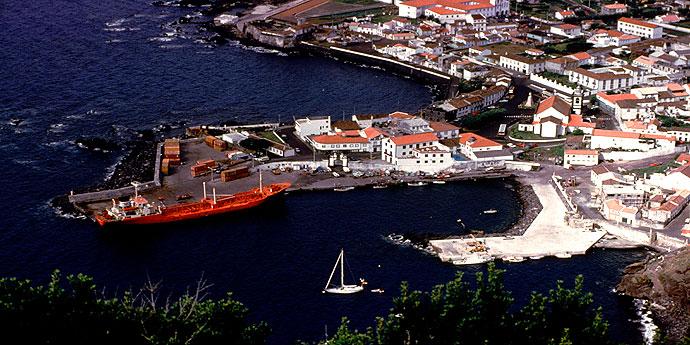 Faehrhafen Velas Sao Jorge