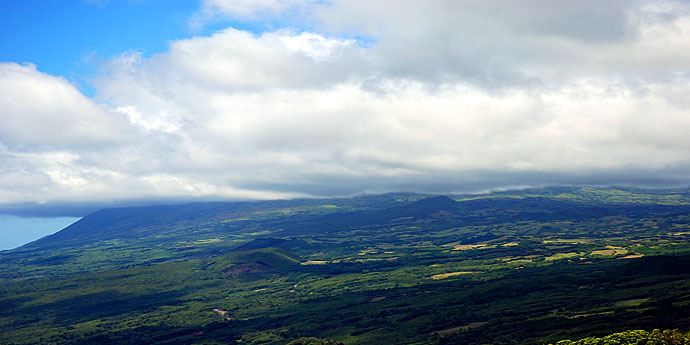 Pico in Wolken