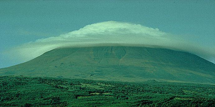 Sturmwolken Azoren